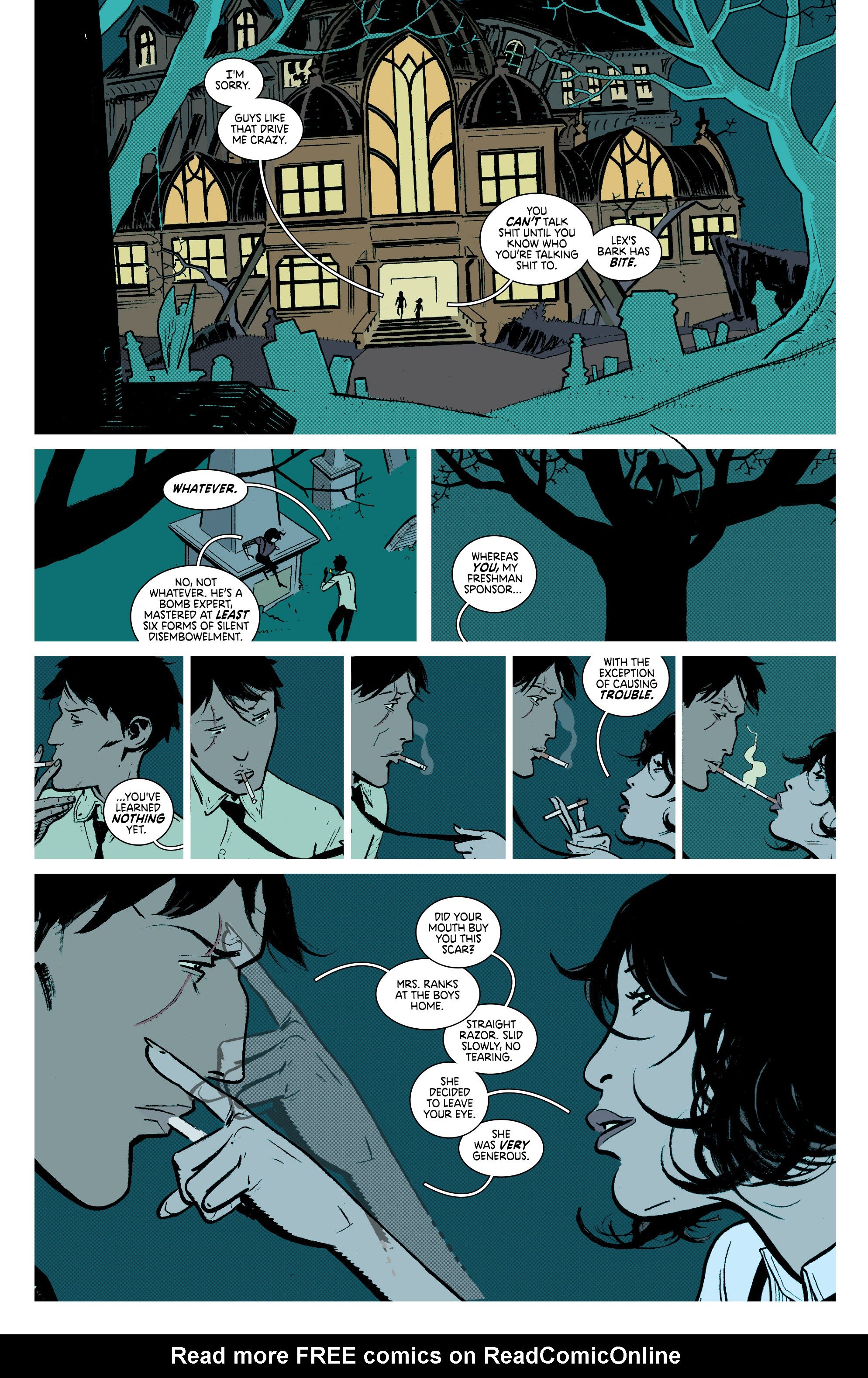 Read online Deadly Class comic -  Issue #7 - 15