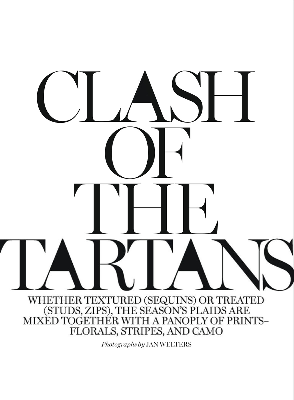 Clash Of The Tartans Bo Kersti Alanna Li Paul Joseph Michael And Chris By Jan Welters For