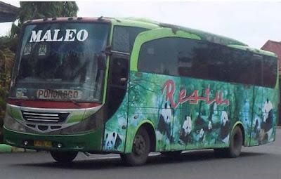 Bus Surabaya Mojokerto