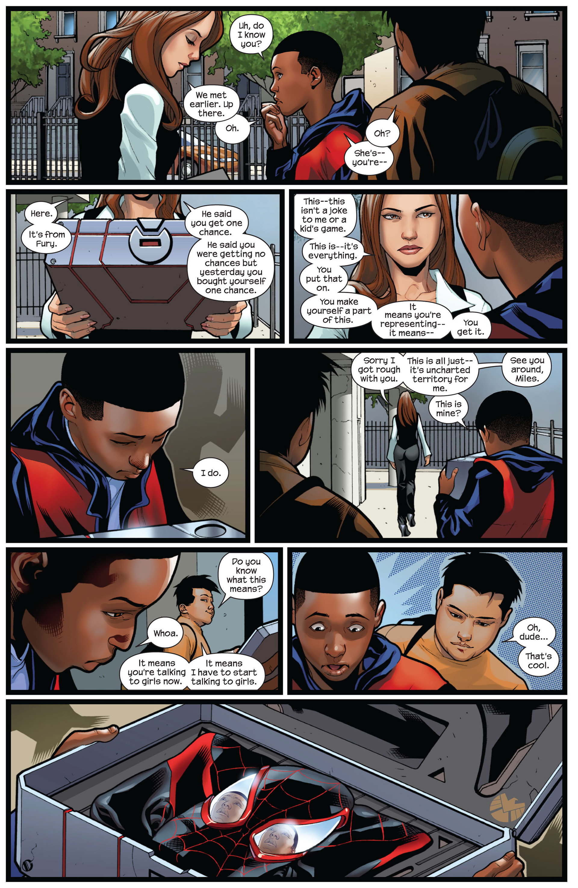 Read online Ultimate Comics Spider-Man (2011) comic -  Issue #5 - 21