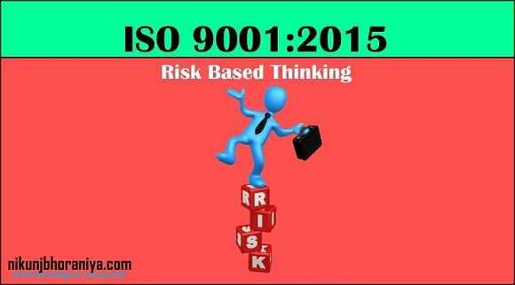 What is Risk Based Thinking? | ISO 9001 Risk Based Thinking