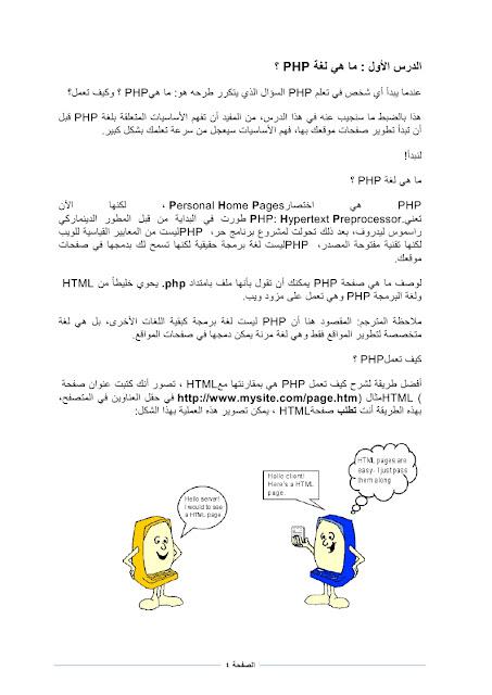 كتاب البرمجة باستخدام PHP