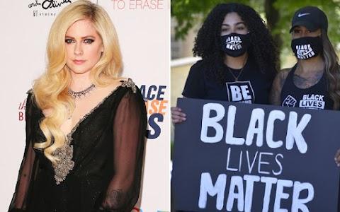 Avril Lavigne muestra al verdadero líder del movimiento 'Black Lives Matter'