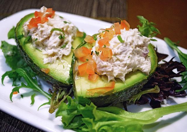 Tuna Salad in Avocado
