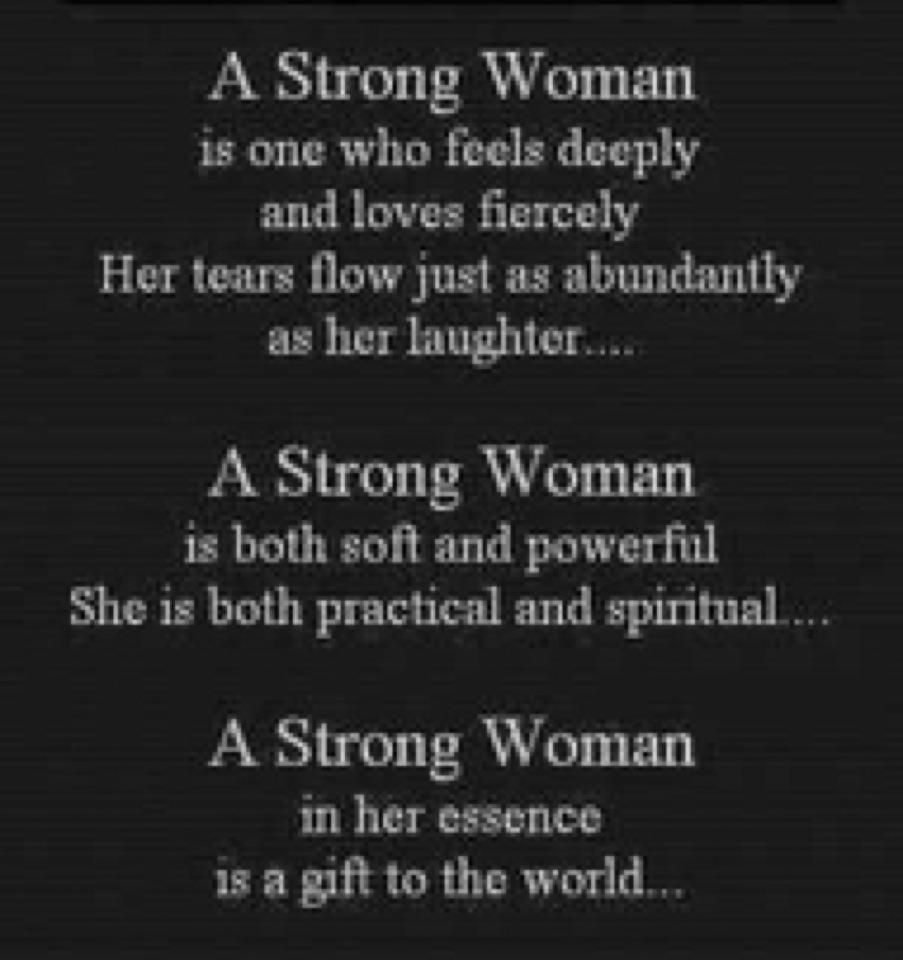 Strong Women Quoted: Party Of 5: A Strong Woman