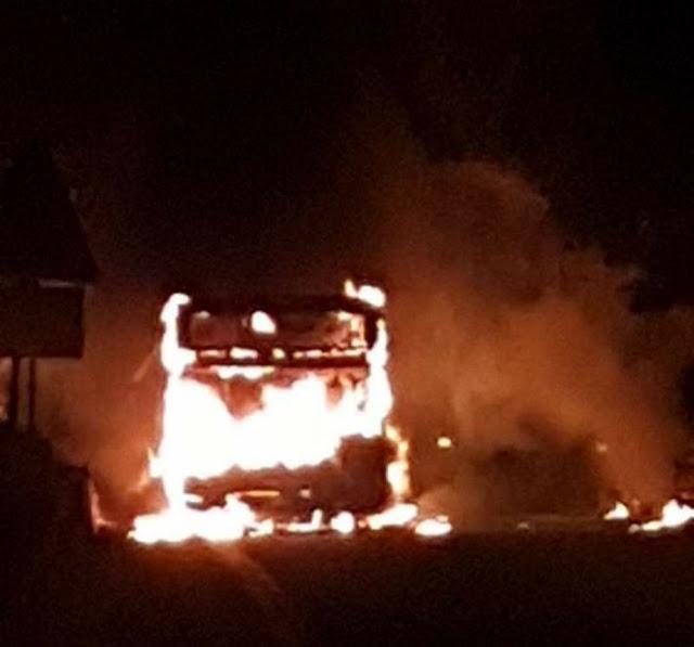 Cotral, due bus a fuoco in due giorni