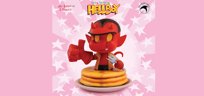 Itty Bitty Hellboy Mini Bust by Art Baltazar x Skelton Crew Studio