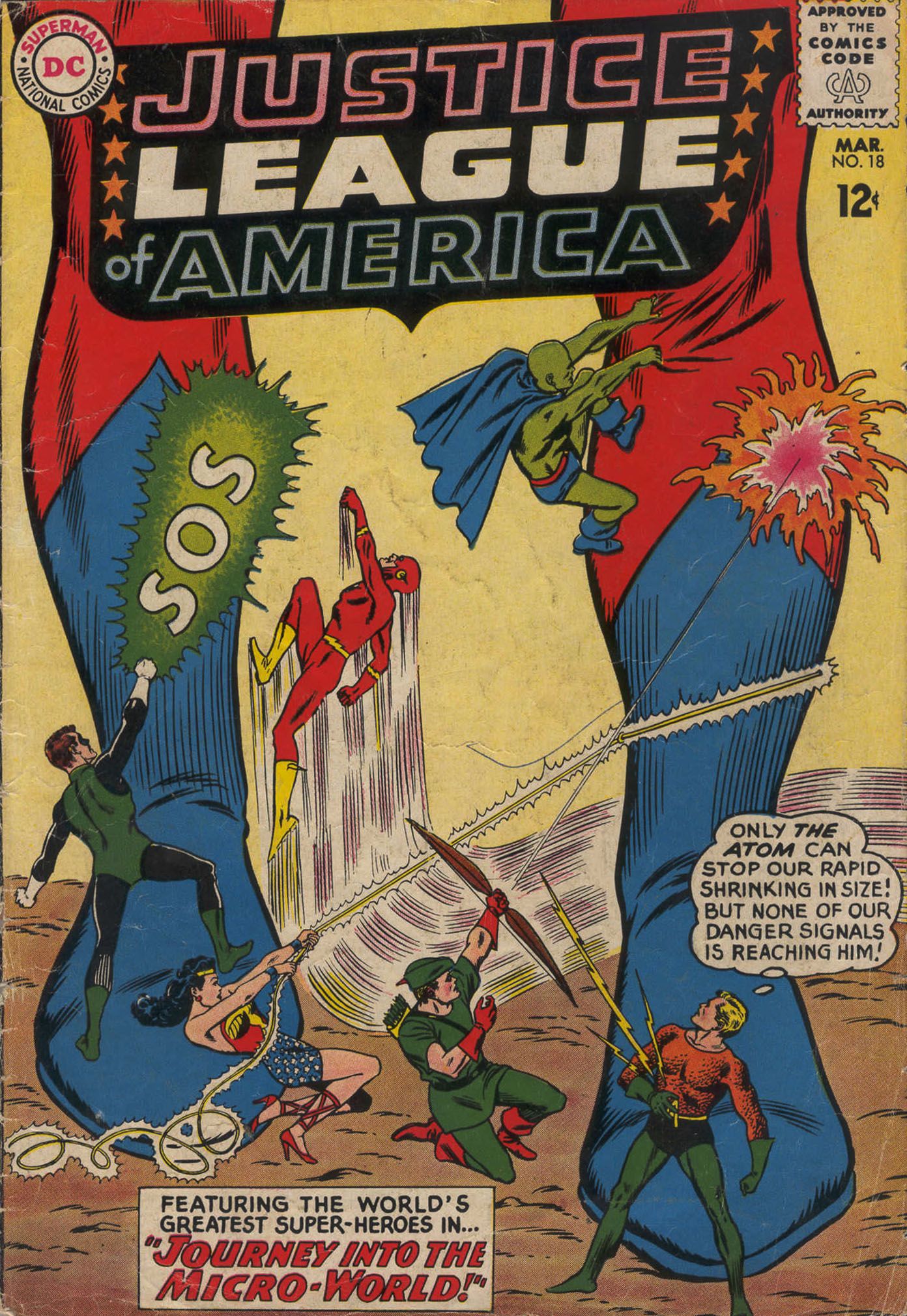 Justice League of America (1960) 18 Page 1