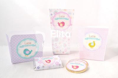 Kit Imprimible para cumpleaños - Cajitas para golosinas y snacks