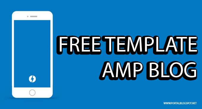 Free Template Blog AMP