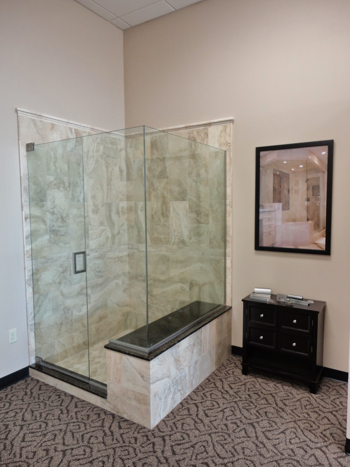 Tile Sarasota Here Are Four Shower Displays We Built For