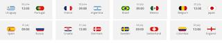 octavos final mundial futbol 2018