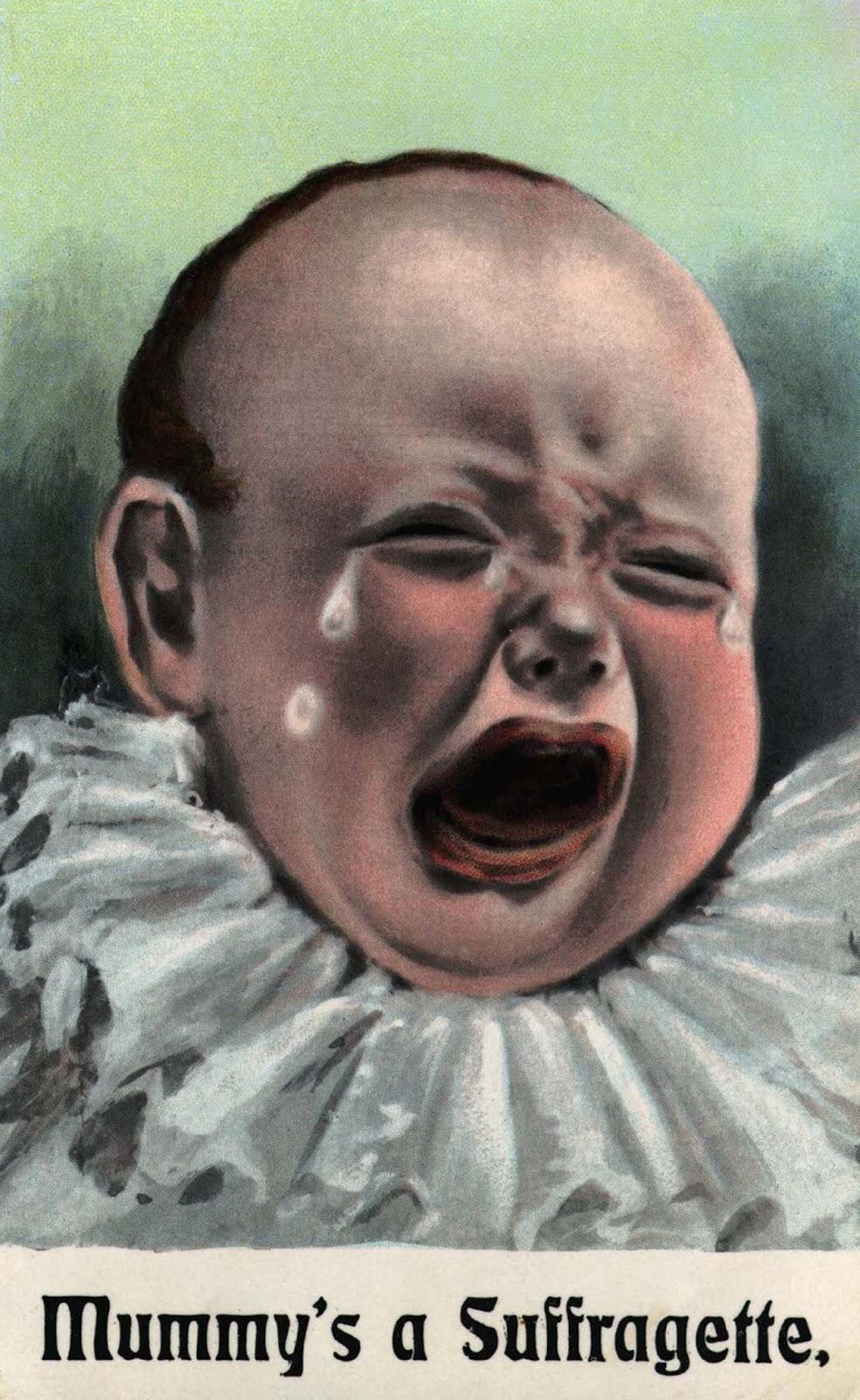 Mummy's a Suffragette. 1900.