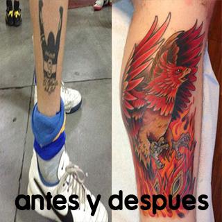 Hincha de Boca se borra un tatuaje después de perder la final con River