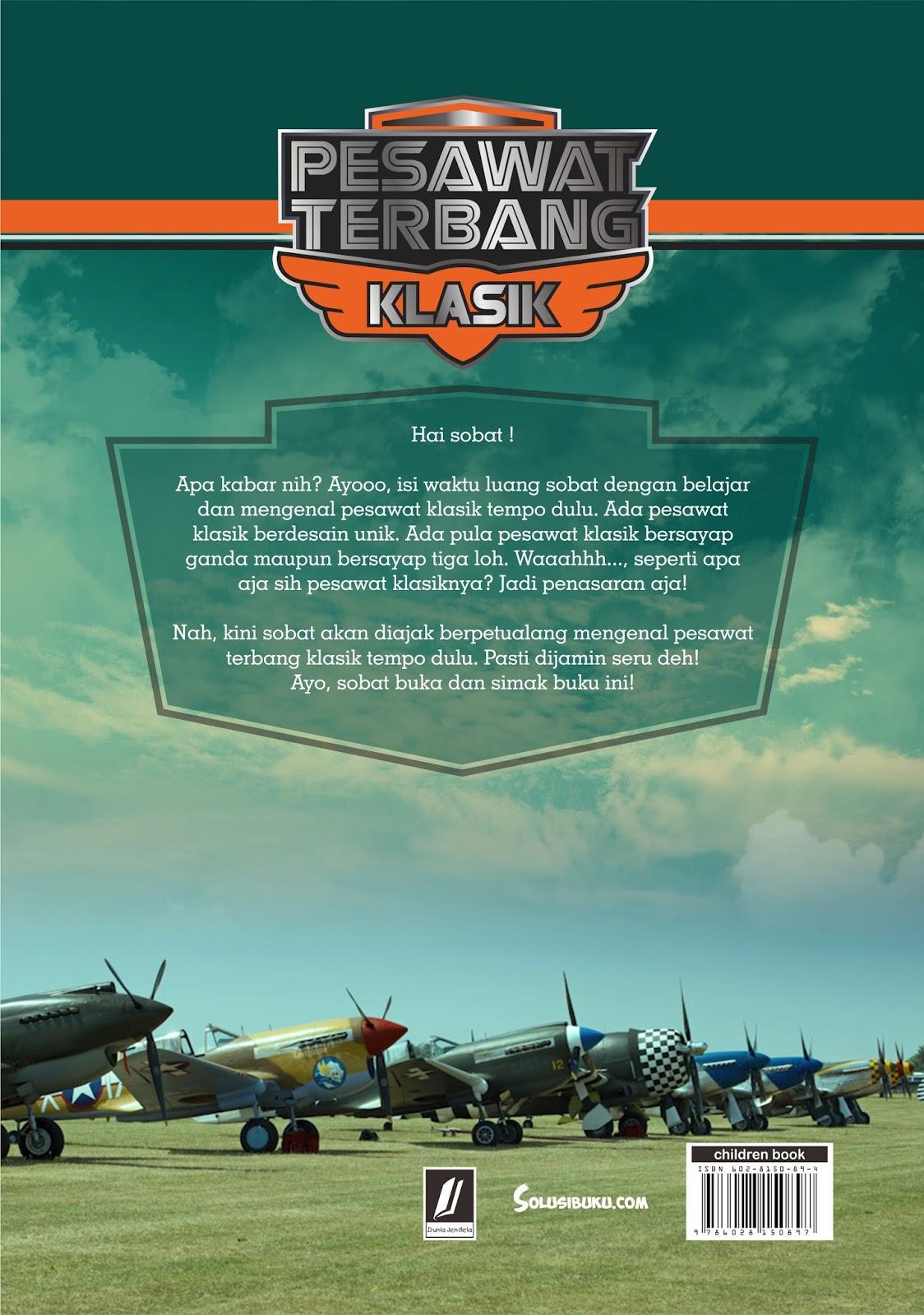 Fannani Lishan Pesawat Terbang Klasik
