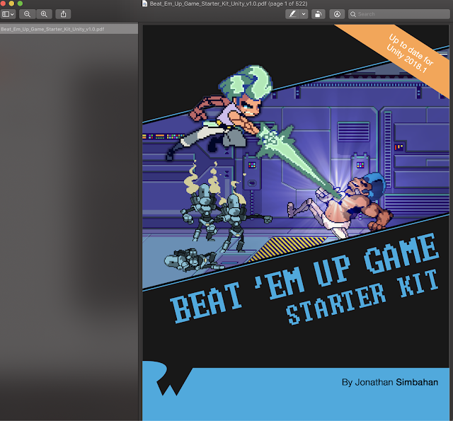 Beat Em Up Game Starter Kit Unity Update for Unity 2018.1 Ray Wenderlich Books