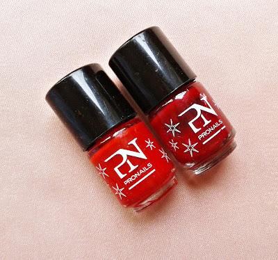 pronails, red nail polish