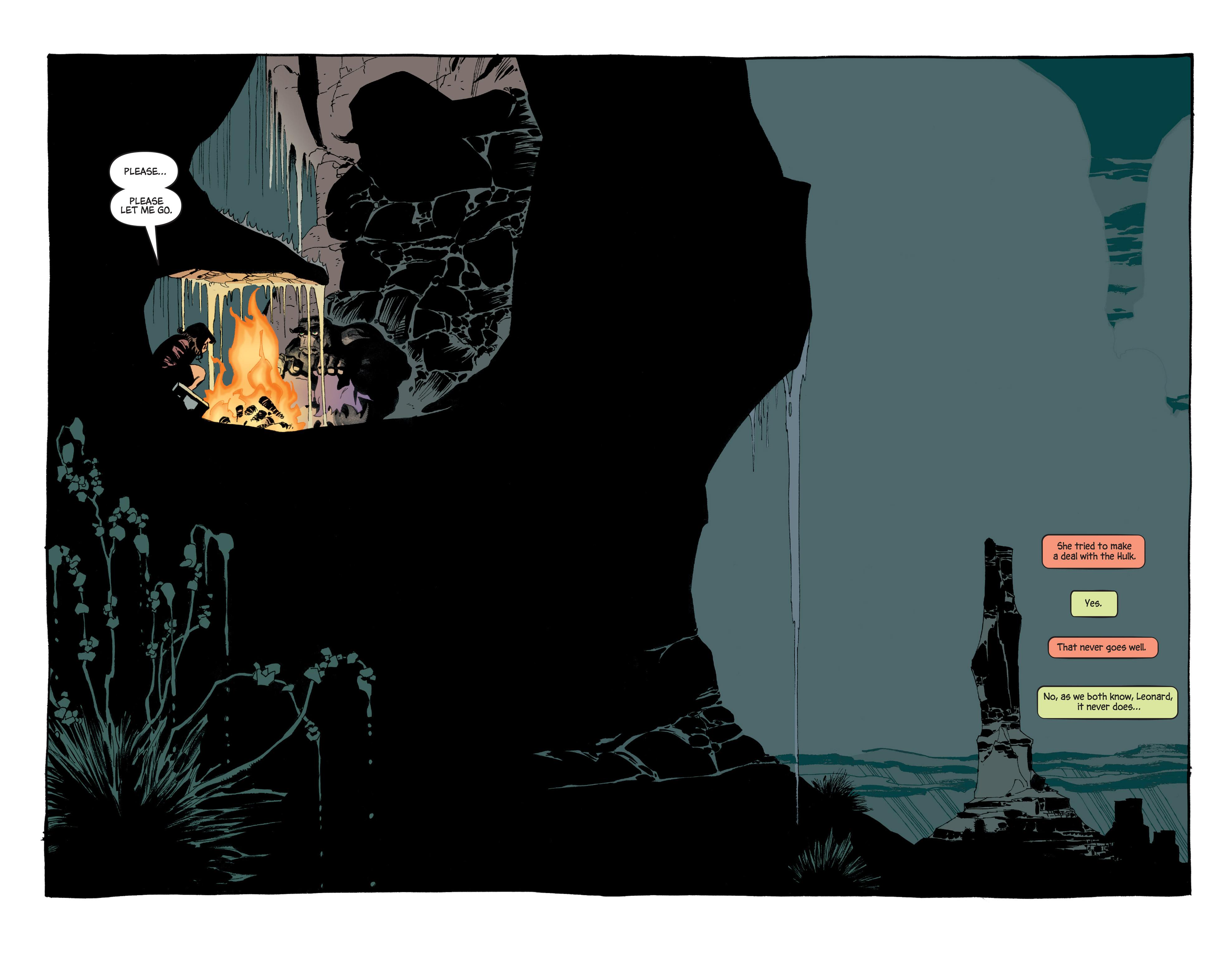 Read online Hulk: Gray comic -  Issue #5 - 17