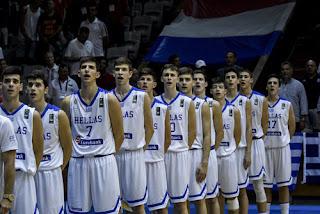 Ελλάδα-Ολλανδία : 74-60 και χρυσό μετάλλιο για την Εθνική Παίδων στο μπάσκετ