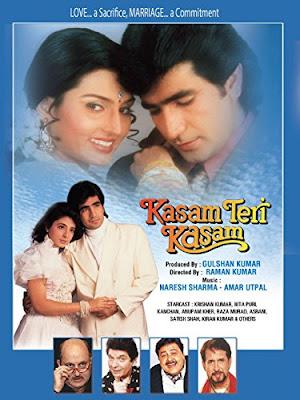 Kasam Teri Kasam 1993 Hindi 360p DVDRip 400MB
