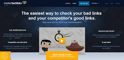 MonitorBacklinks SEO Tool