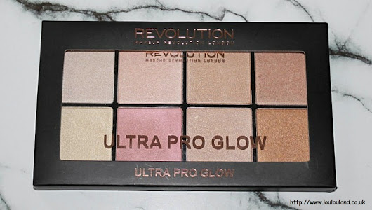 Highlighter Heaven With The Revolution Ultra Pro Glow Highlighting Palette