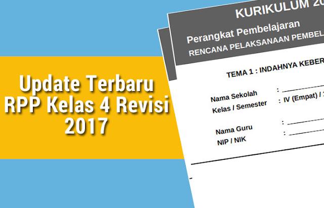 RPP Kelas 4 Revisi 2017
