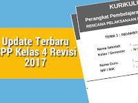 Update Terbaru RPP Kelas 4 Revisi 2017