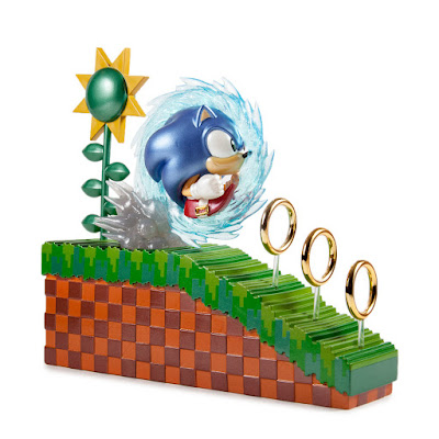 Kidrobot Exclusive Sonic the Hedgehog 25th Anniversary Metallic Variant Medium Vinyl Figure by Kidrobot x SEGA