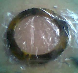 Handle tas dari resin bening