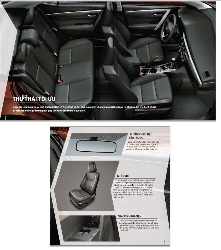 toyota altis 2015 toyota tan cang 9 - Toyota Corolla Altis 2014 - 2015: Đột phá ấn tượng - Muaxegiatot.vn