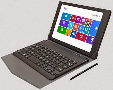 Cloudfone Epic 8.0, 8-inch Windows 8.1 Tablet with Free Keyboard Case and Pen for Php9,999