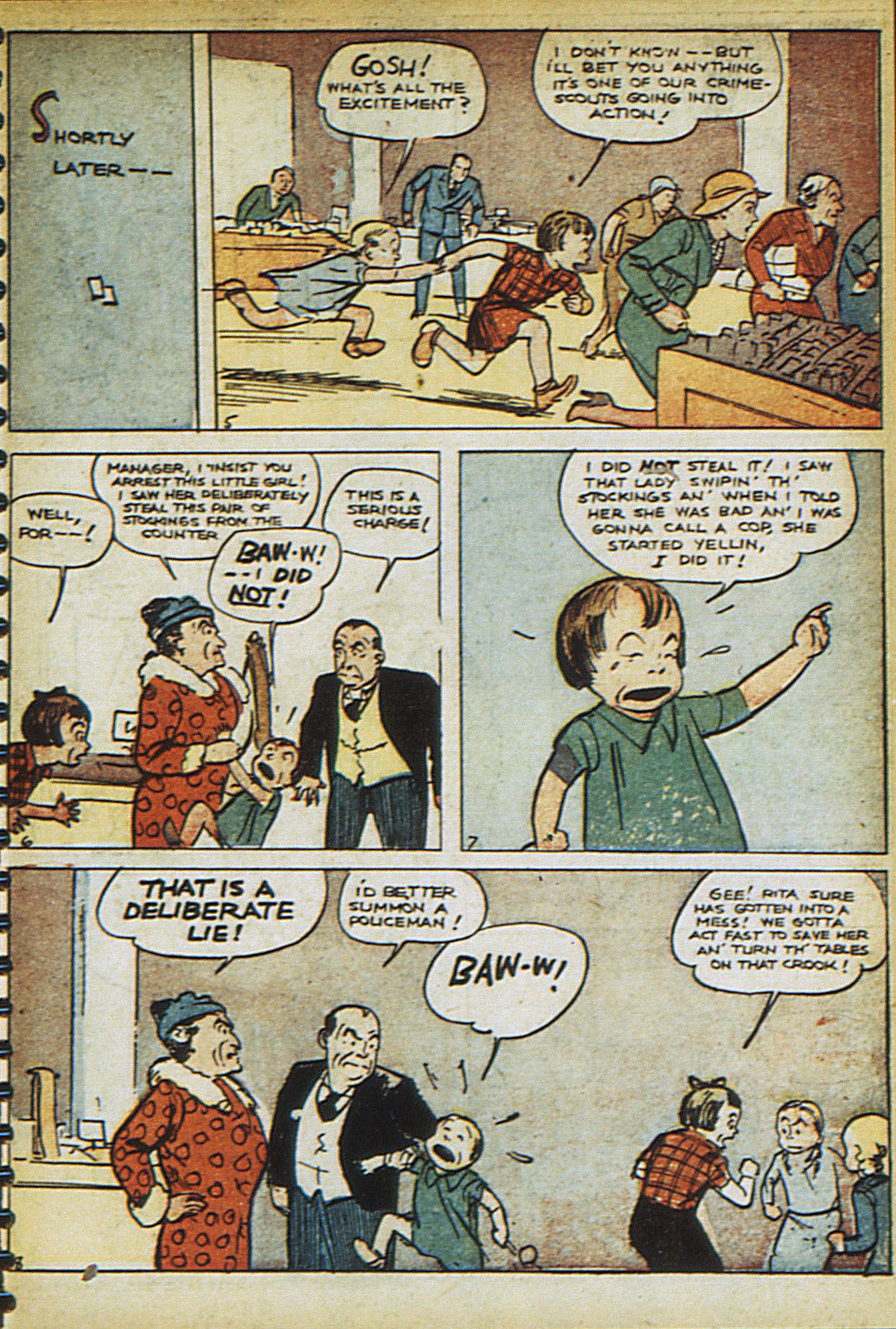 Read online Adventure Comics (1938) comic -  Issue #23 - 29