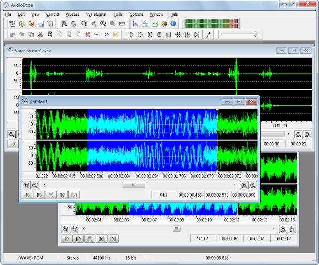 Software Editor Audio untuk Mixing