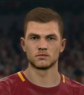 PES 2017 Faces Edin Dzeko by Sameh Momen