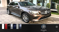Mercedes GLC 300 4MATIC 2019 màu Nâu Citrine 796