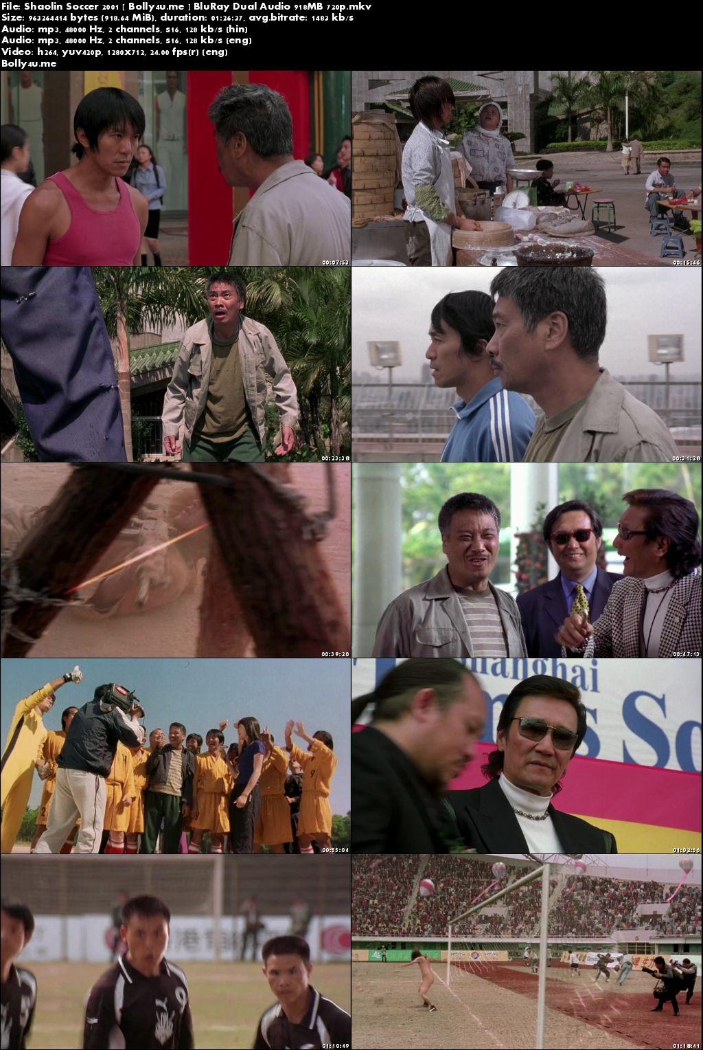 Shaolin Soccer 2001 BluRay 900MB Hindi Dual Audio 720p Download