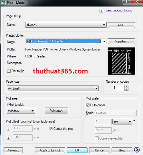 Cách chuyển file có đuôi DWG (autocad) sang file pdf chuẩn nhất-1