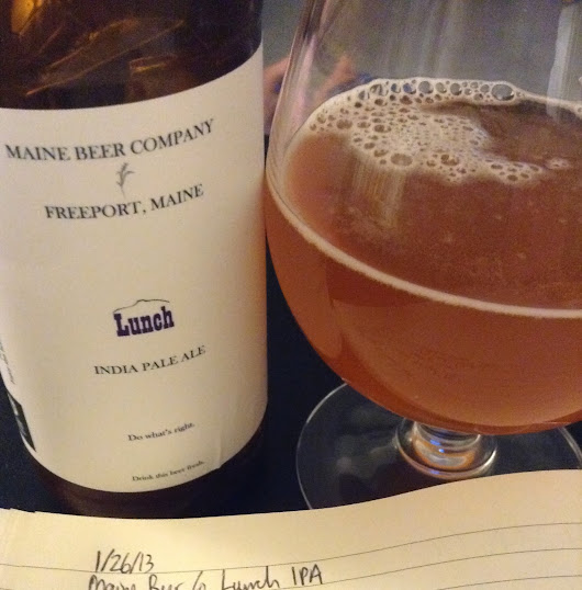 Review: Maine Beer Company Lunch IPA