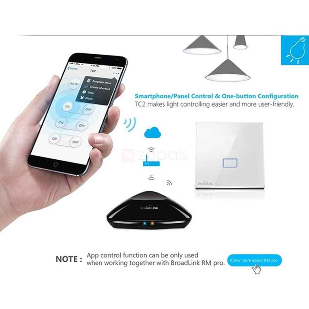 Smart Switch Via Bluetooth