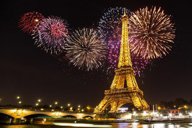 Oudejaarsavond in Parijs