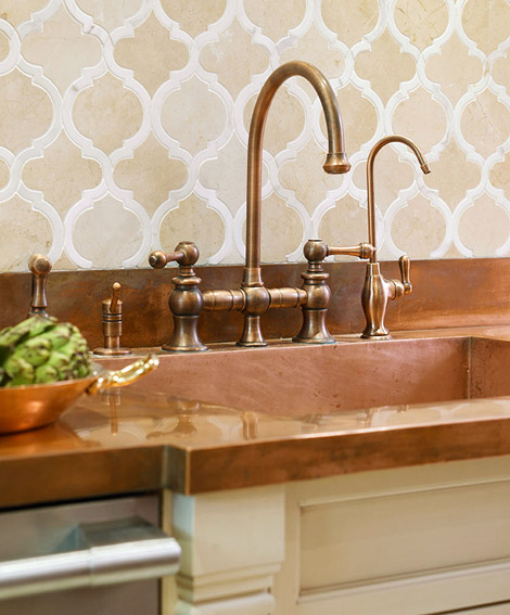 Welcoming Intimate Showhouse Kitchen