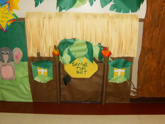 Hallway Displays Part 2 - Jungle