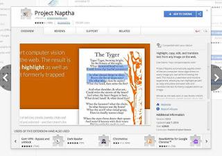 كيفية نسخ واستخراج النصوص و الكلمات الموجودة فى الصور -  Text from Image by Naptha Project