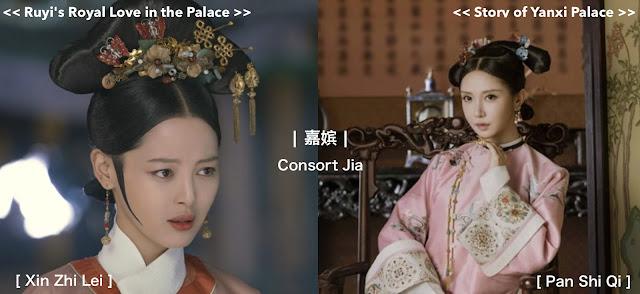 Consort Jia Xin Zhi Lei Pan Shi Qi