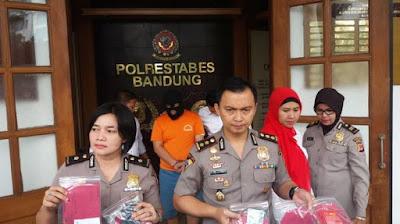 penangkapan pelaku prostitusi kelas atas di bandung
