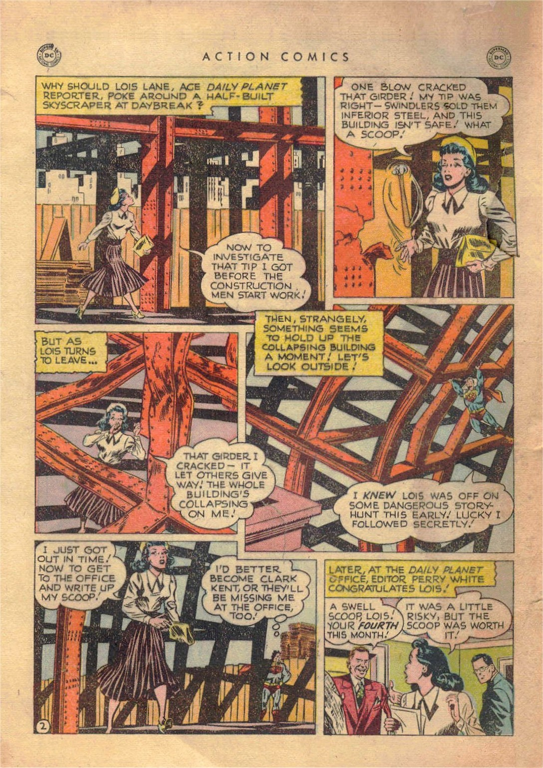 Read online Action Comics (1938) comic -  Issue #138 - 3