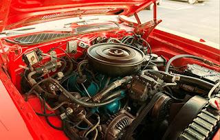 1972 Plymouth Satellite Sebring 318 Engine