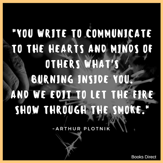Quote of the Week by Arthur Plotnik