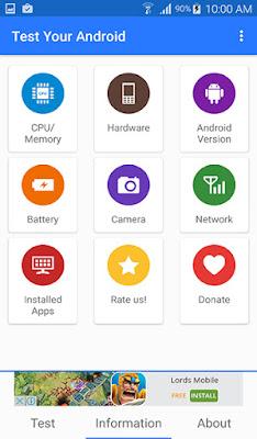تطبيق Test Your Android لفحص وحل مشاكل هاتفك بدون الحاجة إلى مختص